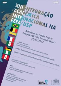XIII Integração Acadêmica Internacional na FZEA