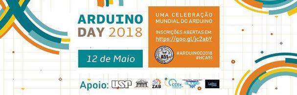 Banner 1º Arduino Day FZEA/USP