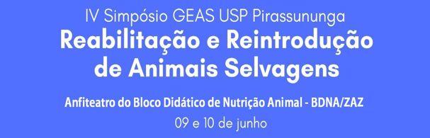 Banner IV Simpósio GEAS USP Pirassununga