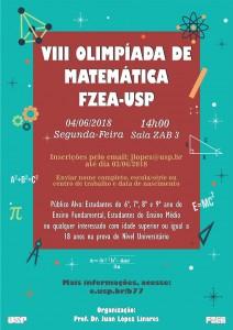VIII Olimpíada de Matemática FZEA-USP