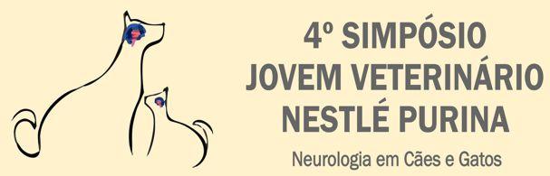 Banner 4º Simpósio Jovem Veterinário Nestlé Purina
