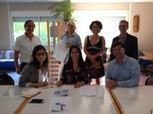 Reunião no Institut des Régions Chaudes (IRC)