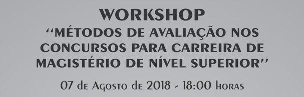 Banner Workshop Carreira Magistério