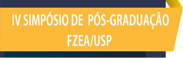 Banner IV Simpósio de Pós-Graduação FZEA/USP