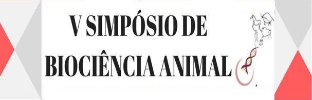 Banner V Simpósio de Biociência Animal