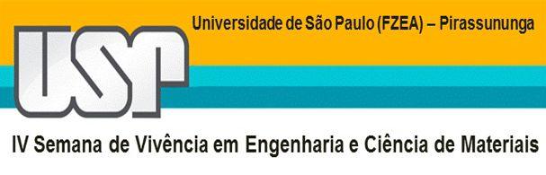 Banner IV Semana de Vivência em Engenharia e Ciência de Materiais