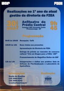 Realizações no 1º ano da gestão da diretoria da FZEA 2018