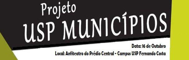 Banner Programa USP Municípios - Pirassununga
