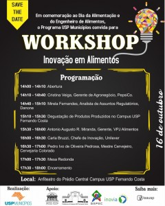 Workshop Inovação em Alimentos