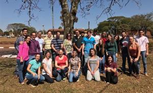 Equipe da FZEA/USP envolvida no projeto.