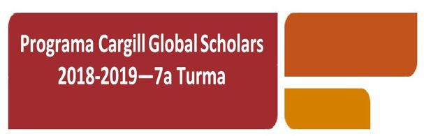 Banner Cargill Global Scholars Program 2018-2019