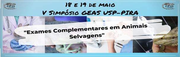 Banner V Simpósio GEAS USP Pirassununga