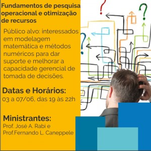 Fundamentos de pesquisa operacional e otimização de recursos