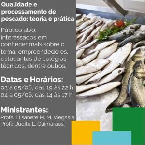 Qualidade e processamento de pescado: teoria e prática