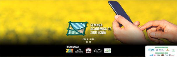 Banner Semana Acadêmica de Zootecnia 2019