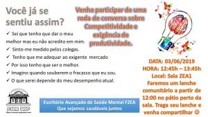 Roda de conversa: Competitividade e exigência de produtividade