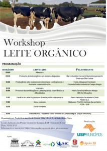 Workshop Leite Orgânico – USP Municípios