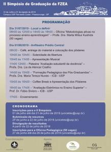 II Simpósio de Graduação da FZEA