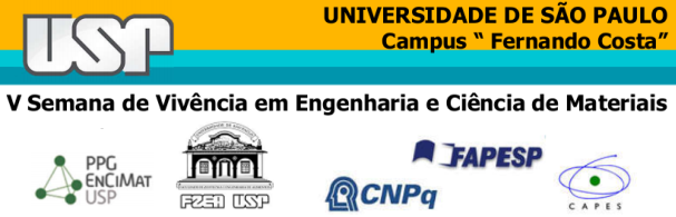 Banner V Semana de Vivência em Engenharia e Ciência de Materiais