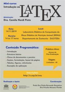 Minicurso: Introdução ao LaTex