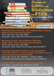 Semana do Livro e da Biblioteca na FZEA/USP 2019