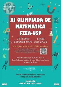XI Olimpíada de Matemática FZEA-USP