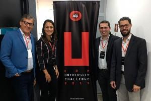 Vencedores do Prêmio EDP Brasil 2019<br />João Adriano Rossignolo, Natália Teixeira Fernandes Gomes, Glauco Roberto Clerc Reguero e Leandro Glerean.
