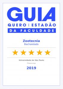 Selo Guia da Faculdade – Zootecnia FZEA 2019