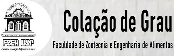 Banner Colação de Grau FZEA 2020