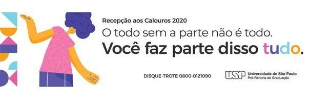 Banner XXII Semana de Recepção aos Calouros - 2020