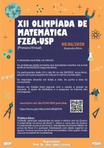 XII Olimpíada de Matemática FZEA-USP