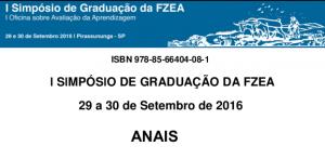 Anais do I Simpósio de Graduação da FZEA