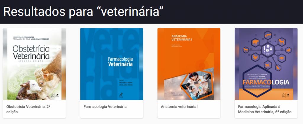 USP Minha Biblioteca - Veterinária