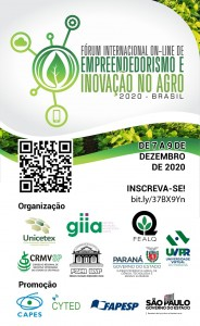 Fórum Internacional Online de Empreendedorismo e Inovação no Agro