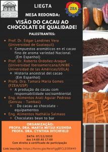 Mesa Redonda:<br />Visão do Cacau ao Chocolate de Qualidade