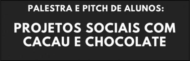 Banner Projetos Sociais com Cacau e Chocolate