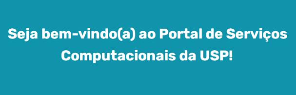 Banner Portal de Serviços Computacionais da USP