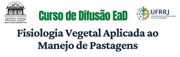 Banner Curso Difusão EaD Fisiologia Vegetal x Manejo de Pastagens