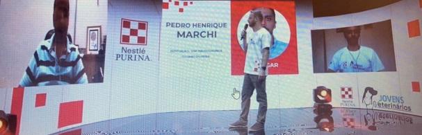 Banner Premiação Programa Jovem Veterinário Nestlé Purina 2020