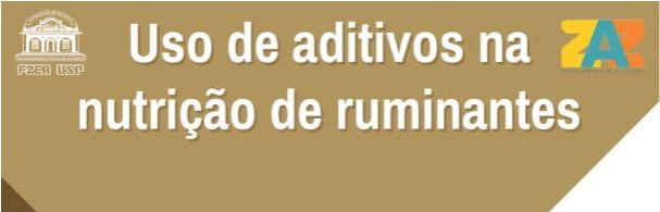 Banner Uso de Aditivos na Nutrição de Ruminantes